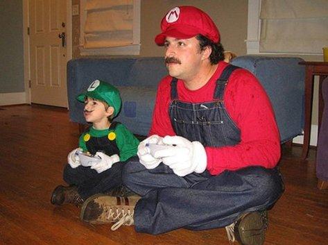 mario pai e luigi junior