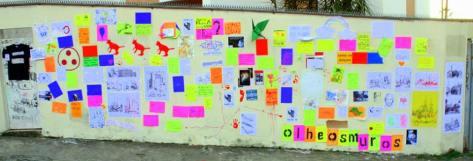 Mural da edição do Wallpeople 2013.