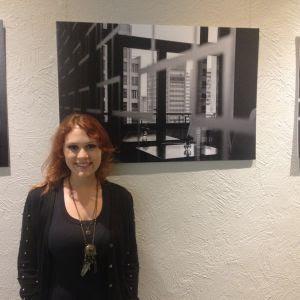 Aluna Jessica Cheis e sua foto.