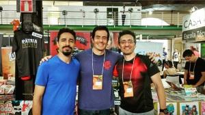Equipe do AURORA na FIQ 2015.