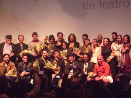 Ganhadores do Prêmio Aplauso Brasil de Teatro 2016. Foto por: Renata Porto