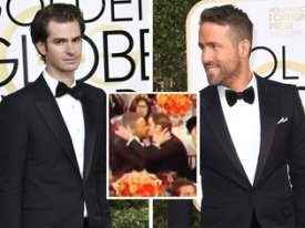 ryan-reynolds-andrew-garfield-golden-globes-kiss