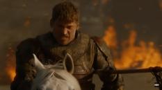 Jaime na batalha contra o exército de Daenerys